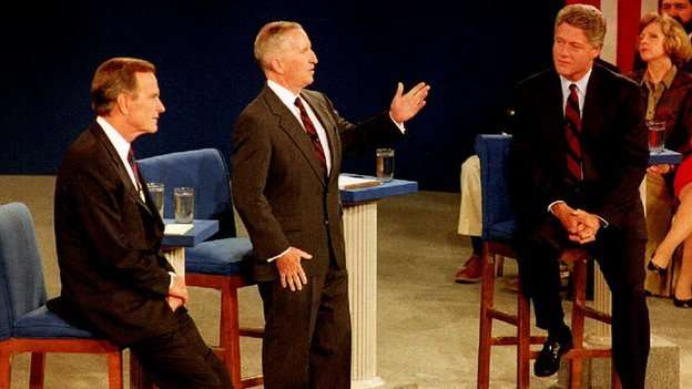 Ross Perot - 1992 Debate - Real Reformer Of Government
