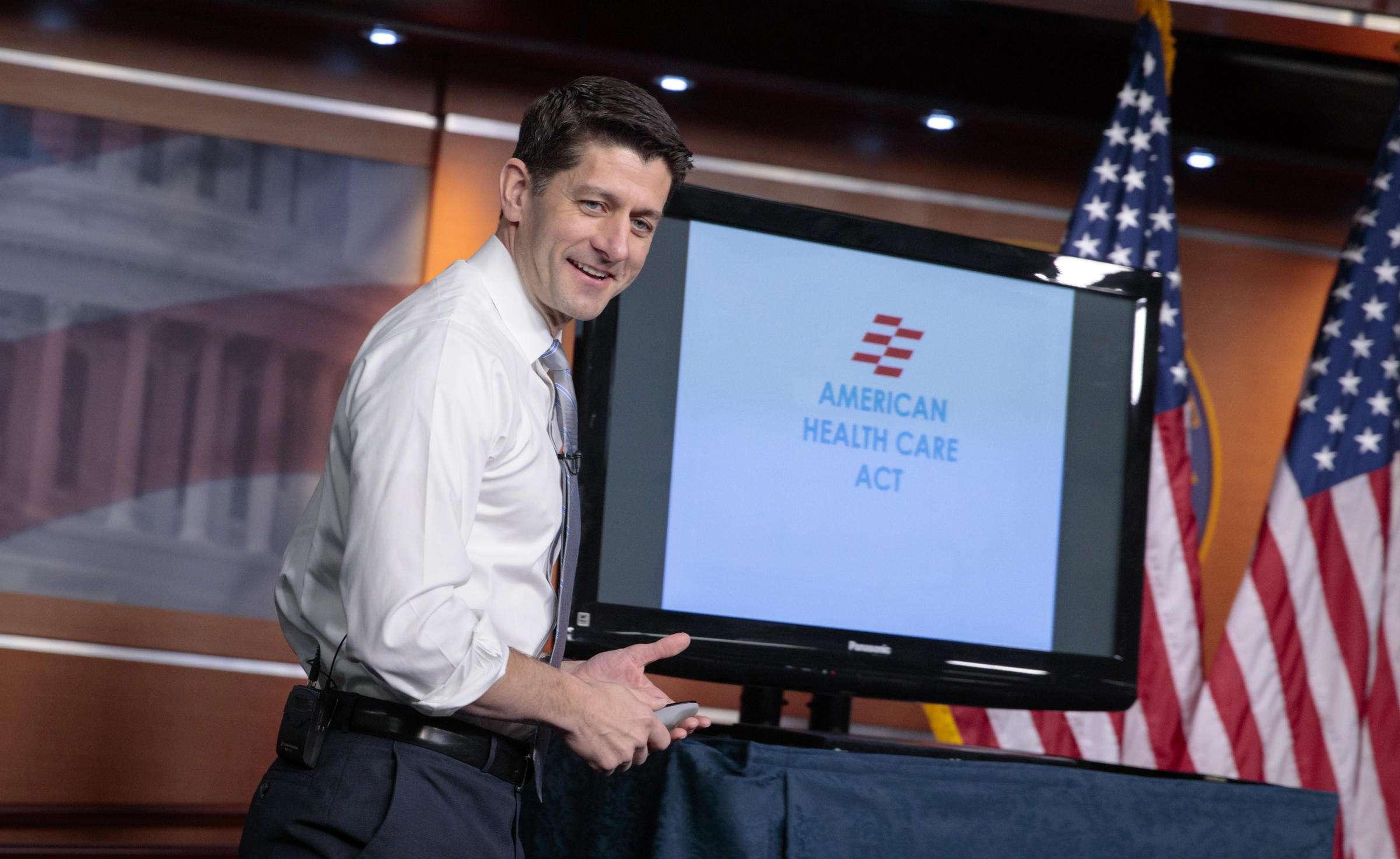 Paul Ryan - American Health Care Act - Obamacare Repeal