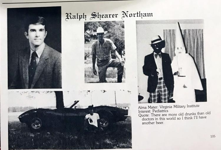 Governor Ralph Northam Dressed As A Member of the KKK or In Black Face